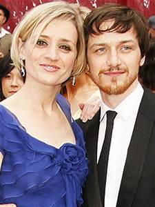inspection before shipment: James Mcavoy and his Wife ...