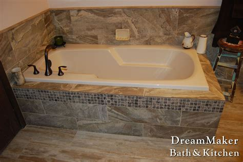 drop in tub surround tiled tub surround for a drop in tub more new house