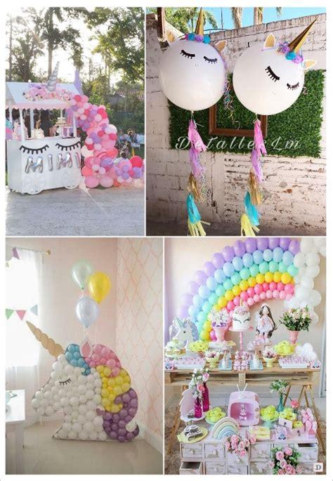 décoration anniversaire thème licorne anniversaire licorne deco fille