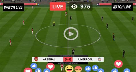 Live Football – Arsenal vs Liverpool – Live Streaming | FA ...
