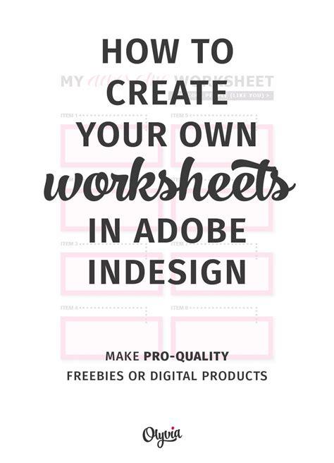 tutorial   create   worksheets  adobe