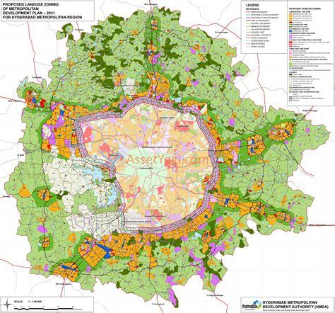 home layout hmda master plan 2031 hyderabad map summary free