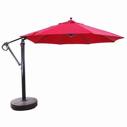 Umbrella Cantilever Patio Umbrellas Aluminum Tilt Easy