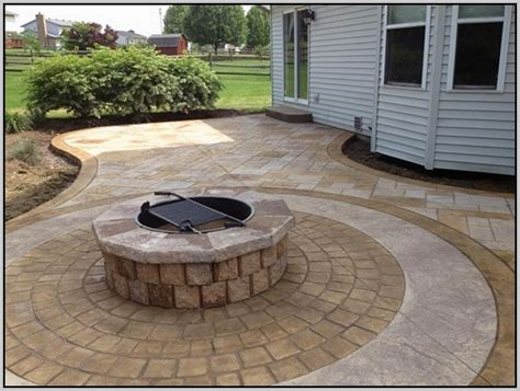 poured concrete patio vs pavers page home