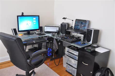 l shaped gaming desk image gallery l shaped gaming desk