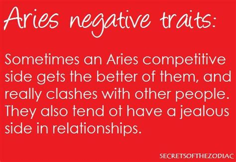 aries negative characteristics 17 best images about my sign on aries