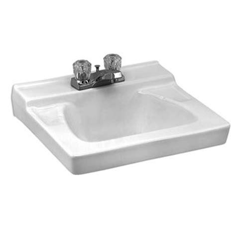 Eljer Bathroom Sinks by Eljer Murray Ii Wall Hung Lavatory 4 Inch Centers