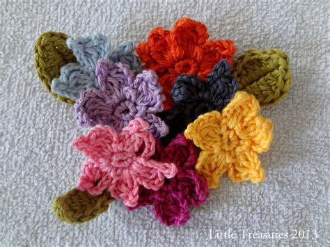 treasures adenium  crochet flower tutorial