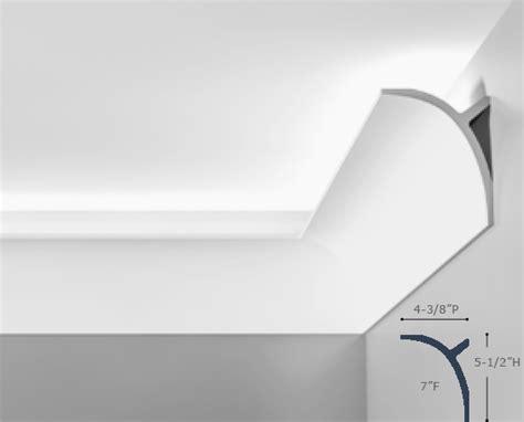 Belvedere Molding For Indirect Lighting