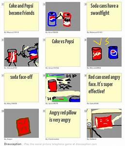Coke And Pepsi Become Friends Drawception