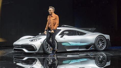 lewis hamilton amg  build   supercar