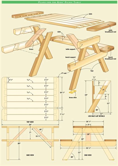plans build park bench woodworking projects plans