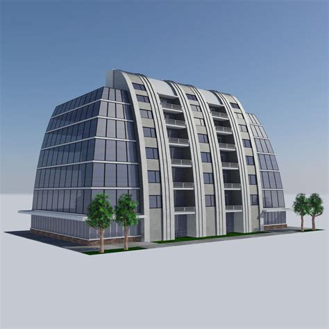 Futuristic Apartment City Building Hd  Modern Housing