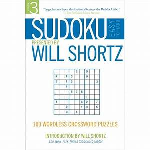 Sudoku Easy To Hard Presented By Will Shortz  Volume 3