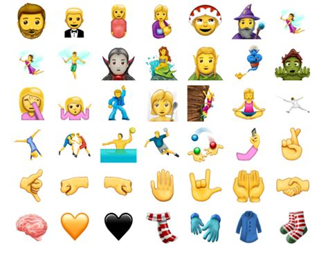 new iphone emojis here are all 137 new emoji that could hit iphone and