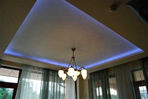modern ceiling designs  hidden led lighting fixtures