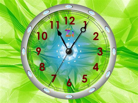 Free Animated Clock Wallpaper For Desktop - wall clock themes for desktop