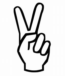 PEACE SIGN CARTOON HANDS - ClipArt Best