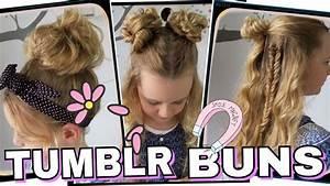 Coole Mädchen Frisuren : 3 tumblr bun dutt frisuren coole m dchen z pfe frisuren youtube ~ Udekor.club Haus und Dekorationen