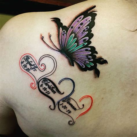 pleasant butterfly shoulder tattoos  designs