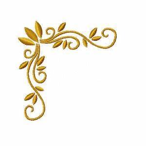 Swirl Corner Design Related Keywords & Suggestions - Swirl ...