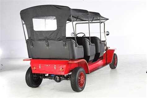 China Royal 8 Seater Tourist Sightseeing Retro Electric