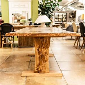 Buy, Handcrafted, Oak, Planked, Trestle, Table