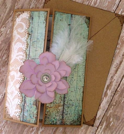 etsy shabby chic items similar to shabby chic mint and lavender invitation on etsy