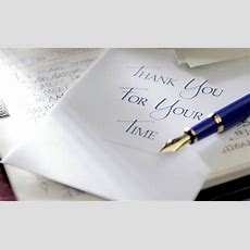 Guidelines For Writing Great Thankyou Letters