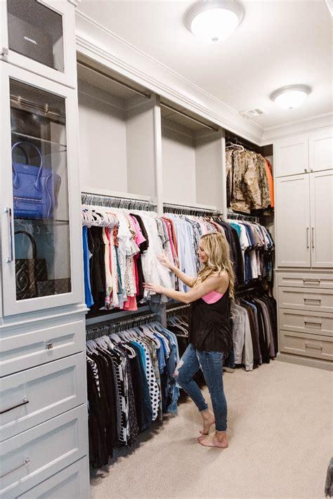 Shared Closet Organization Ideas by Master Closet Organization Ideas With Beeneat Organizing