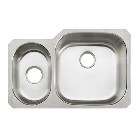 undermount stainless steel kitchen sink kohler undertone undermount stainless steel 31 in double