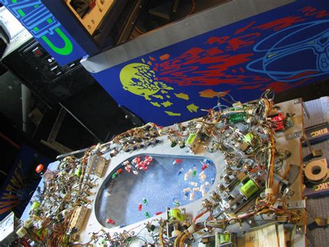 Pinball Cabinet Artwork by Custom Journey Pinball Could Be Coming To A Show Near You