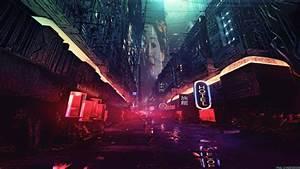 Night, Artwork, Futuristic, City, Cyberpunk, Cyber, Science, Fiction, Digital, Art, Concept, Art