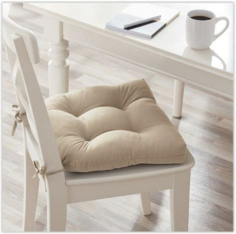 chair seat cushion pads wties kitchen dining room
