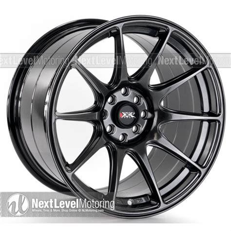 Xxr Wheels 527 17x975 Chromium Black Rims