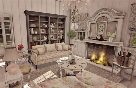 Second Home Decorating Ideas: Spring Cottage - Living Room