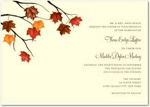 autumn wedding invitations utah events by design autumn themed weddings