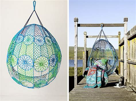 Knotted Hanging Chair Melati By Anthropologie