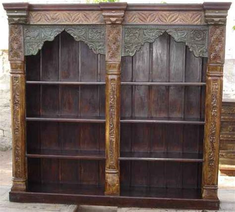 Indian Wood Bookcase by Pillar Bookcase In Jodhpur Rajasthan Jaitex Exports