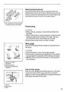 Makita 2703 User Manual 10 Table Saw Manuals And Guides