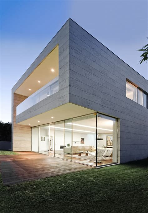architect design homes luxury glass and concrete home design at open block house