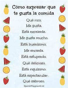 Ways To Say Delicious In Spanish