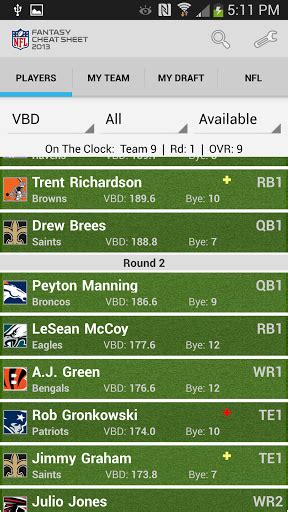 android apps    dominate   fantasy football season