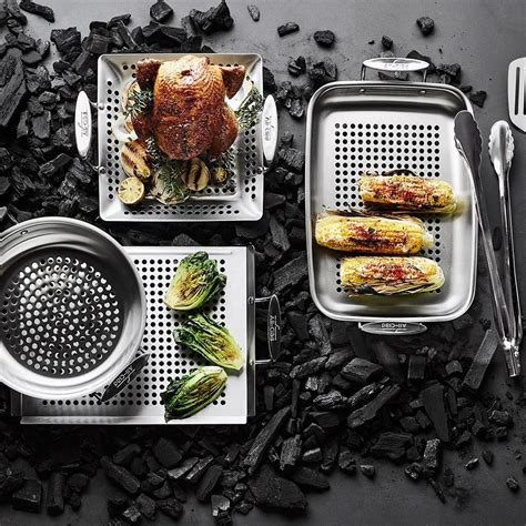 clad stainless steel outdoor frying pan williams sonoma au