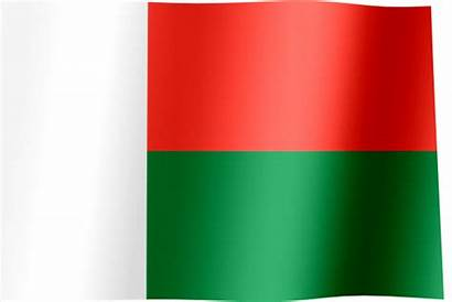 Madagascar Flag Animated Waving Flags