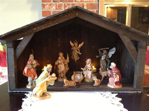 christmas mangers by mikede lumberjocks com