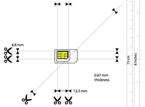micro to nano sim template come tagliare la sim e trasformarla in micro sim o nano sim nanopress