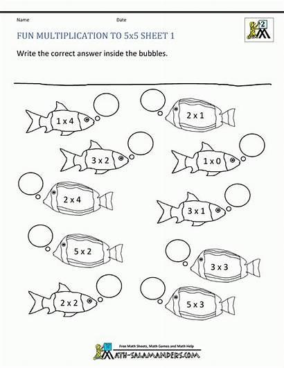 Multiplication Worksheets Grade Math Fun Printable Sheets
