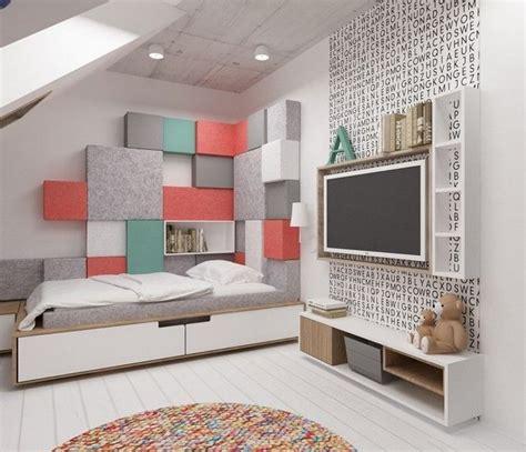 idee deco chambre d ado déco murale chambre enfant papier peint stickers peinture