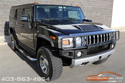 hummer suv luxury pkg air ride envision auto